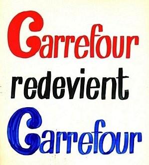 Carrefour redevient Carrefour destruction de valeur