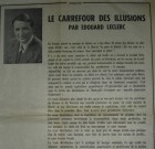 Edouard Leclerc livre un combat : Carrefour des illusions