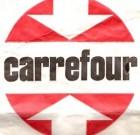 Logo Carrefour des premiers magasins à la position de n°1 européen