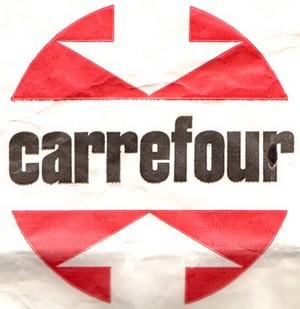 Logo Carrefour originel