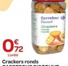 76% de baisse toute l'année sur une MDD Carrefour