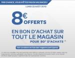 8 euros offerts