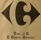 Carrefour emploi un logo Colossal