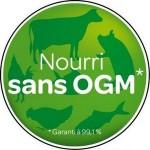 Nourri sans OGM étiquette Carrefour