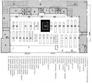 Plan Carrefour Sainte Genevieve des bois 1963