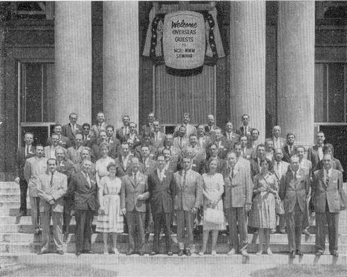 Séminaire MMM à Dayton juin 1960 - Missions MMM, organisé par l'équipe de Bernardo Trujillo