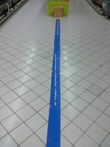 Ligne bleue Carrefour Carre-Senart