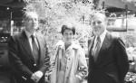 de g. à d. : Edmond Ballerand, Brigitte Guillot, hans J. Welsel