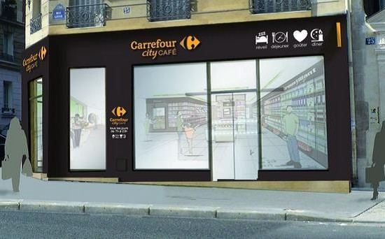Carrefour city cafe