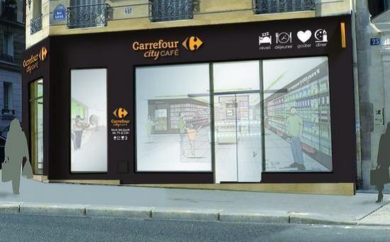 Carrefour city cafe