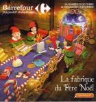 Catalogue de noel Carrefour La fabrique du pere noel Carrefour