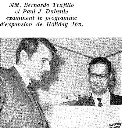 paul dubrule bernardo trujillo holiday inn