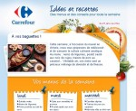 Carrefour sort les baguettes