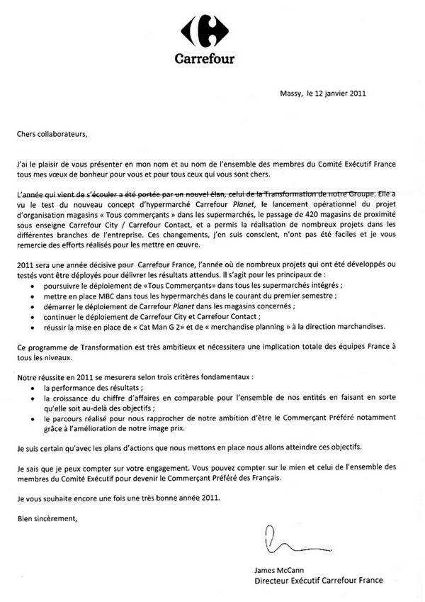 exemple lettre de motivation job etudiant carrefour
