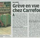 Appel à la grève à Carrefour ce samedi 9 avril 2011