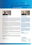 Carrefour lettre aux actionnaires 21 juin 2011