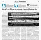 L'étrange cession du maxidiscompte, vu par Le Monde