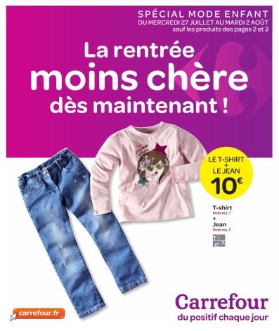 Carrefour la rentree moins chere des maintenant