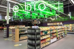 Carrefour planet France Ecully bio