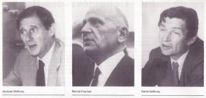 Jacques Defforey Marcel Fournier Denis Defforey fondateurs de Carrefour