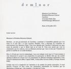 Deminor interpelle : Olofsson et le conseil sont-ils impartials sur le brésil ?