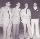 Les premiers directeurs de l'hypermarché Carrefour de Ste Genevière-des-bois