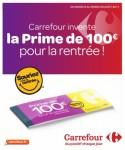 prime de rentrée carrefour 100 euros pour la rentree La Prime de Rentr%C3%A9e