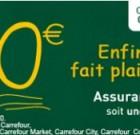 Assurance scolaire gratuite, Carrefour arrête