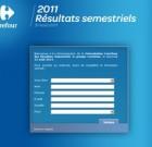 Carrefour retransmet ses résultats du 1er semestre le 31 août 2011