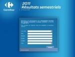 Carrefour résultat 1er semestre 2011