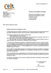 Carrefour CFDT serge corfa courrier direction relations sociales