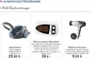 Carrefour discount électroménager