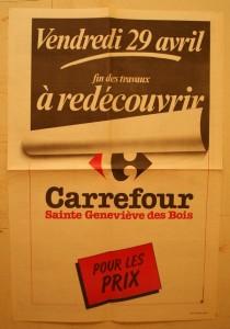 Carrefour sainte genevieve inauguration