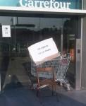 Carrefour thierry breton lars olofsson xavier kemlin greve faim siège