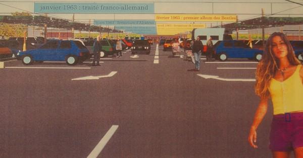 Projet Carrefour sainte genevieve des bois allee centrale