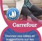 Boîte à idées produits Carrefour sur Facebook
