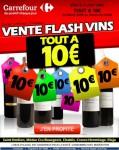 carrefour vente flash vins tout a 10 euros