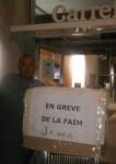 Carrefour Xavier Kemlin grève de la faim
