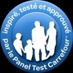 logo inspires testes et approuves par le Panel Test carrefour
