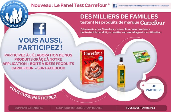carrefour facebook. Black Bedroom Furniture Sets. Home Design Ideas