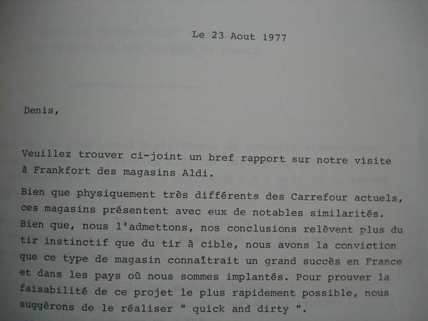 Etienne Thil previent Denis Defforey Aldi Frankfort