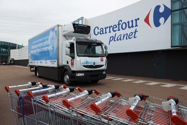 carrefour camion electrique