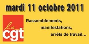 carrefour grève CGT 11 octobre 2011