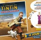 Carrefour : les aventures de Tintin en 3D