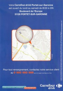 Carrefour drive horaire