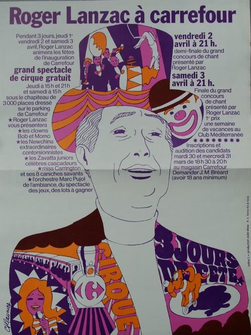 Cirque carrefour lanzac 1971