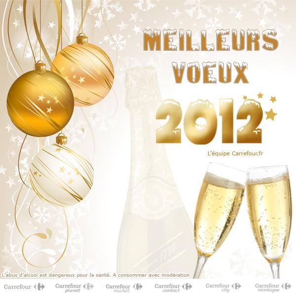 carrefour voeux 2012