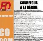 Carrefour à la dérive, selon FO