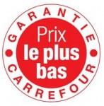 Carrefour garantie Prix Bas 500 références