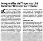 Carrefour jugé pour entrave au fonctionnement du CE d'un magasin